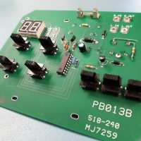 LCL and Paterson work on PCB
